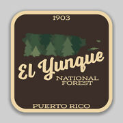 El Yunque National Forest Decal Sticker Explore Wanderlust Camping Hiking