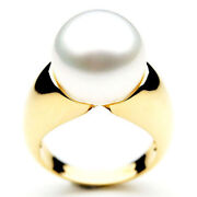 13mm Pacific Pearls® Genuine South Sea White Pearl Rings   Pearl Jewelry On Sale