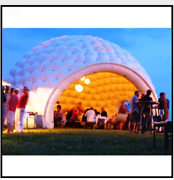 Custom Made Pop Up Inflatable 20ft Dome Igloo Tent Party Events Promotional