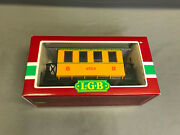 New Lgb 3006 Caboose 1 Dodge City And Great Western Railroad Made In Germany