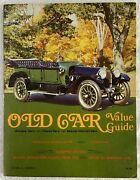 Old Car Value Guide - Volume 4, Number 1 - 1972-73 - Antiques, Classics, Special