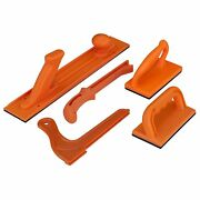 5 Piece Stick Set Plastic Orange Router Table Band Saw Jointer Safety Push Block