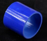76mm 3 Silicone Hose Joiner Coupler Straight Connector Rubber Tube Pipe Blue