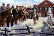 Bradley Schmehl Taking The Oath Signed And Numbered Civil War Art Print Ap