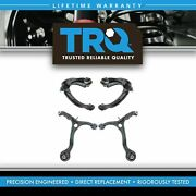 Trq Front Upper Lower Control Arm Assembly Suspension Kit Set 4pc For Accord Tsx