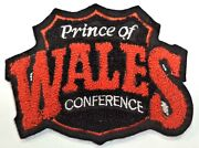 Vintage Of Wales Conference Chenille And Felt 3.5 X 4.5 Inch Nhl Patch