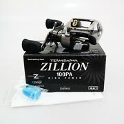 Team Daiwa Td Zillion 100pa Right High Power Made In Japan Fedex 2day To Usa