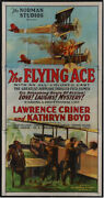 Flying Ace Rare Vintage Movie Poster Three Sheet 1926