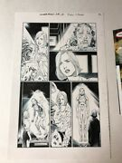 Wonder Woman 18 Page 3 1st Doctor Dr Cyber Original Art Page Evely Hanna Rebirth