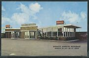 Mo St. Louis Chrome 1962 Dohack's Barbecue Drive-in Restaurant Hwy's 61 67 50