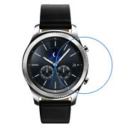 Smart Watch Round Tempered Glass Screen Protector Film Diameter 28 38 46mm Lot