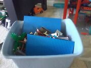Bucket Of 80s Legos From Castle Space And Pirates Themes