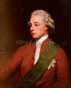Romney George Portrait Of Frederick Artist Painting Reproduction Handmade Oil