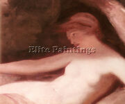 Romney George Reclining Female Nude Artist Painting Oil Canvas Repro Art Deco