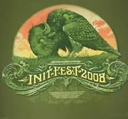 Init Fest - 2008 Aaron Horkey Poster Sioux Falls, Sd Nutty's North