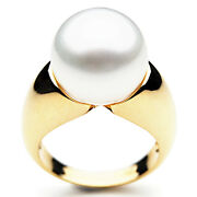 14mm Genuine Pacific Pearls® South Sea White Pearl Rings 20 Off All Pearl Rings
