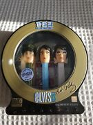 Pez Collectibles Elvis Is 3 Dispensers Cd Limited Edition 319090 Of 400000