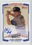 2013 Bowman Draft Perfect Game All-american /235 Clint Frazier Pg-cf Auto