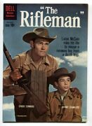 The Rifleman 4 1961-dell-chuck Connors-johnny Crawford Vf/nm