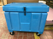 New Poly Box/ Insulated Food Service Container 11 Cu Ft For Shipping/ Storage