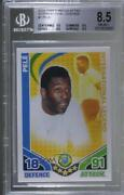 2010 Topps Match Attax South Africa World Cup Uk Edition Pele Bgs 8.5