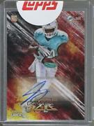 2014 Topps Fire /100 Jarvis Landry Fa-jl Rookie Auto