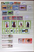 Lot Lt292 Costumes On Worldwide Stamps Wholesale Lot Hundreds Mint Nh Cv600