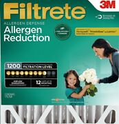 Filtrete Allergen Reduction Deep Pleat Sizes Lots Furnace Air Filter Ships Free