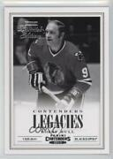 2012 Rookie Anthology Contenders Legacies Limited Edition /5 Bobby Hull L4 Hof