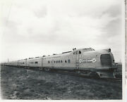 Union Pacific City Of Denver Chicago North And Western 8 X 10 Photograph