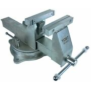 Yost 6 Stainless Steel Combination Pipe And Bench Vise Swivel Base