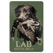 The Lab Results Are In Labrador Duck Hunting Home Business Office Sign