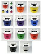 New Pack Of 15 Charity Street Collection Fundraising Donations Buckets 10 Colour