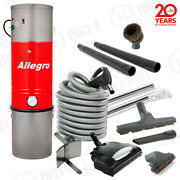Best Allegro Central Vacuum Vac 6000 Sq Ft Electric Hose Wessel-werk Special Kit