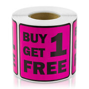 Retail Pricing Garage Sale Price Point Stickers Buy One Get One Free Labels 10pk