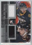 2012 Itg Heroes And Prospects Silver Vault Ruby 1/1 Nail Yakupov Pavel Bure Hof