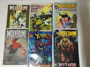 X-men Comic Lot Of 16 The Uncanny Xmen Badrock Wolverine And More Vf/vf+ Bagged