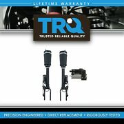 Trq 3 Piece Air Suspension Kit Front Shocks And Compressor For Mercedes Benz New
