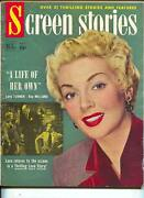 Screen Stories-lana Turner-ray Milland-donald Oand039connor-gene Autry-oct-1950