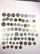 Europe Lot Of 69 Coins Including Ussr Poland Netherlands 1940s Through 1990s
