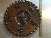 Egidio Casagrande Stamped Tooled Wall Art / Hand Made - Rare Copper Italy Mcm
