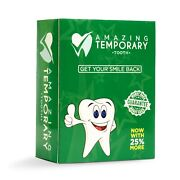 Amazing Temporary Missing Tooth Kit Replacement Temp Dental 25 More Than Others