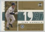 2002 Upper Deck Honor Roll Time Capsule Game Jersey Gold /99 Bret Boone Tc-bb1