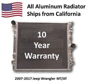 3-row All Aluminum Performance Radiator For 2007-2017 Jeep Wrangler At Hpr603
