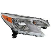 Headlight For 2014 2015 2016 Nissan Versa Note Right With Bulb Capa