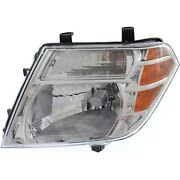 Headlight For 2008-2012 Nissan Pathfinder Left With Bulb Capa
