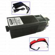 Focusable High Power 450nm 3.5w 3500mw Blue Laser Module Ttl Carving / Burning