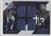 2014 Absolute Tools Of The Trade Quad Rookies /249 Odell Beckham Jr Q-ob Rookie