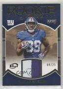 2016 Panini Playoff Stallions 1st Down /25 Paul Perkins Rs-pp Rookie