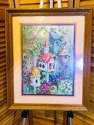 Home Interior Picture Barbara Mock Bird Houses Solid Wood Frame